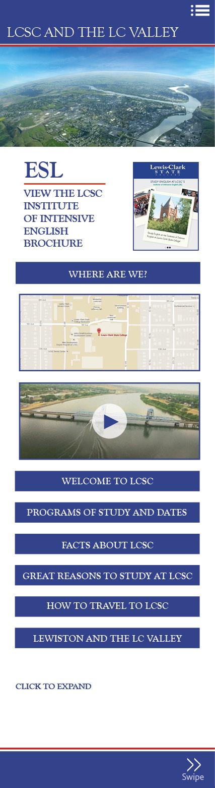 Lewis-Clark State College - International | HTML5 eBrochure