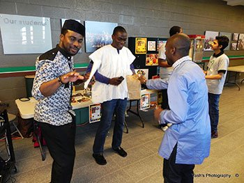 African culture international students Canada