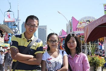 Canadian National Exhibition Toronto international student