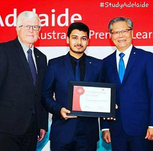 Muhammad-Reefath StudyAdelaide-Award UniSA
